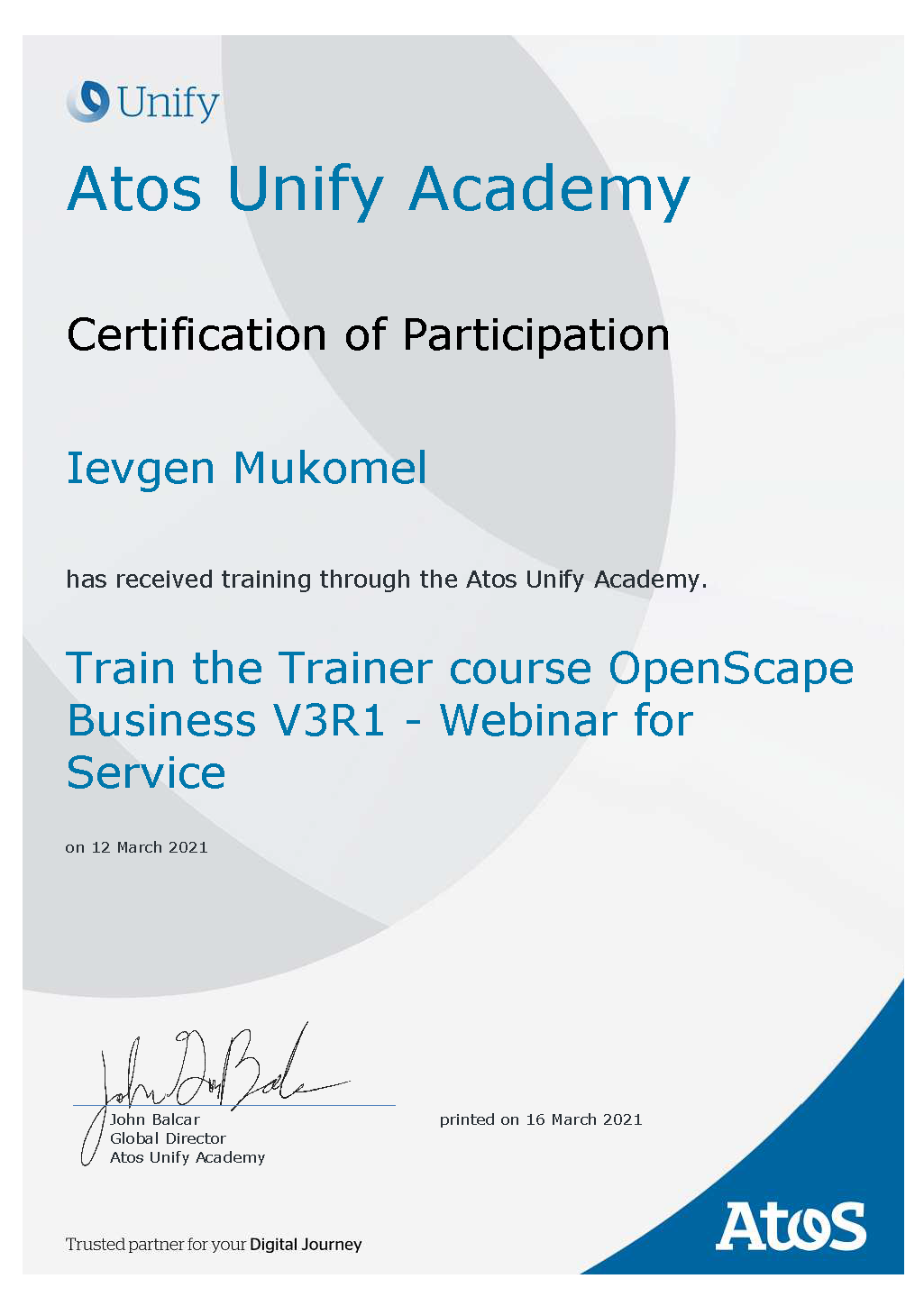 Atos Unify OpenScape Business