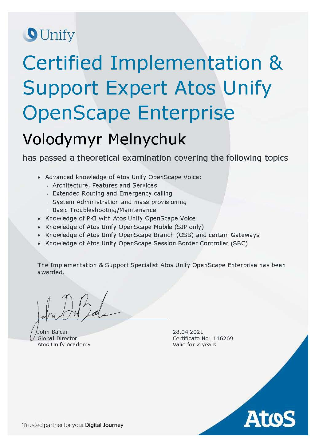 certificate_Implementation_Support_Expert_Atos_Unify_OpenScape_Enterprise