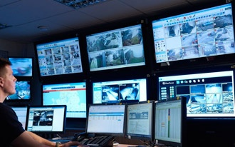 Video surveillance and access control