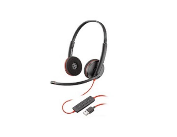 Проводная гарнитура Poly BLACKWIRE 3220 USB-A