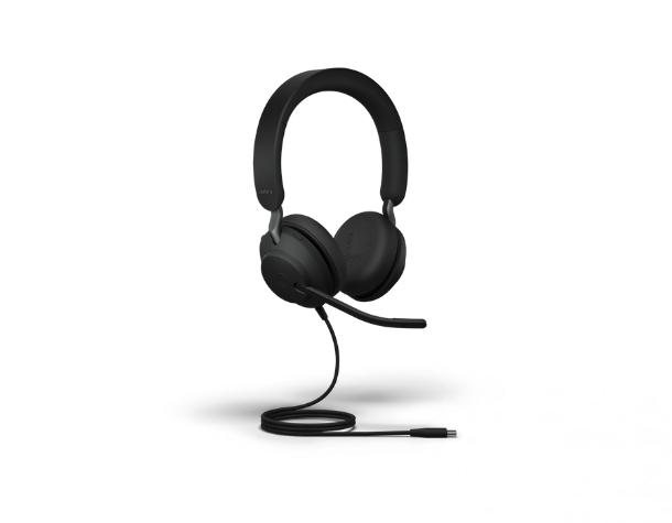 Гарнитура Jabra EVOLVE2 40 Duo USB-C