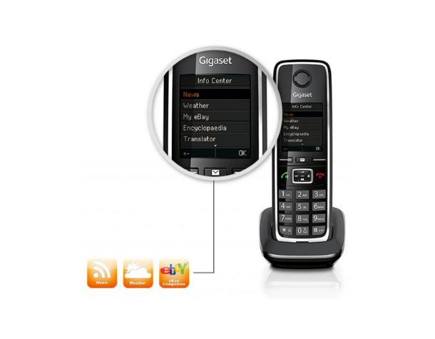 IP-Радиотелефон DECT Gigaset C530A Black